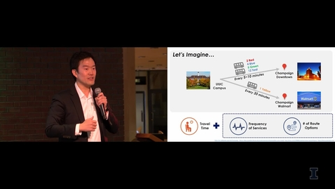 Thumbnail for entry 2018 Research Live! Junghwan Kim: Public Transit Systems - From a User's Perspective
