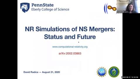 Thumbnail for entry Workshop: Heavy-ions to Neutron Stars: David Radice