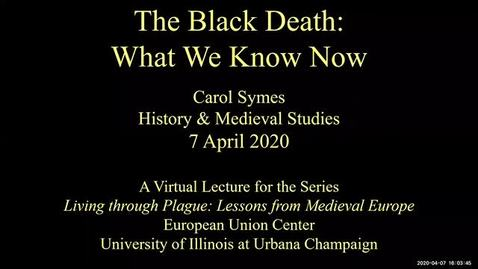 Thumbnail for entry The Black Death: What We Know Now