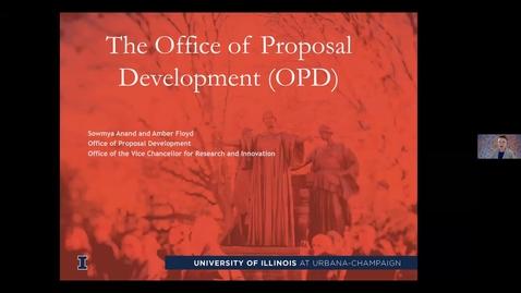 Thumbnail for entry Research Development Webinar Series: Office of Proposal Development
