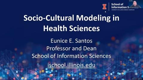 Thumbnail for entry 3.22.2021 - Eunice Santos, PhD, Professor and Dean, School of Information Sciences (iSchool), UIUC NUTR 500 Seminar - Frontiers in Nutritional Sciences