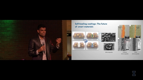 Thumbnail for entry 2018 Research Live! 3rd Place - Dhawal Thakare: Self-Healing Coatings, The Future of Smart Materials