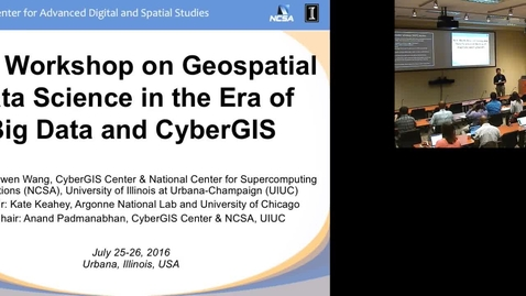 Thumbnail for entry NSF Workshop on Geospatial Data Science.mp4