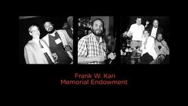 Thumbnail for entry Frank W. Kari Memorial Endowment