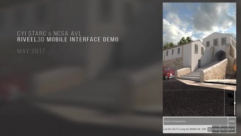 Thumbnail for entry RIVEEL3D Mobile : Interaction Video