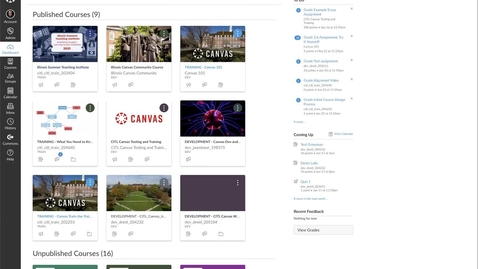 Thumbnail for entry Building Courses in Canvas