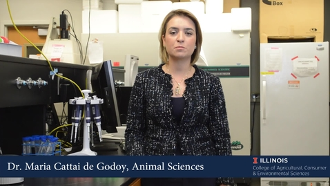 Thumbnail for entry Maria Cattai de Godoy - Department of Animal Sciences
