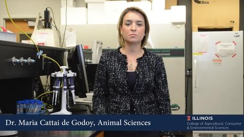 Thumbnail for entry Maria Cattai de Godoy - Department of Animal Sciences