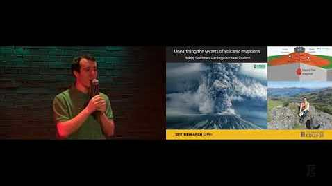Thumbnail for entry 2017 Research Live! People's Choice: Robby Goldman - Predicting Volcanic Eruptions