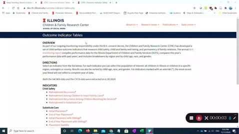 Thumbnail for entry CFRC DEV site data checking - November 17th (Copy)