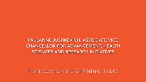 HSRI Lightning Talks—Jeff Woods