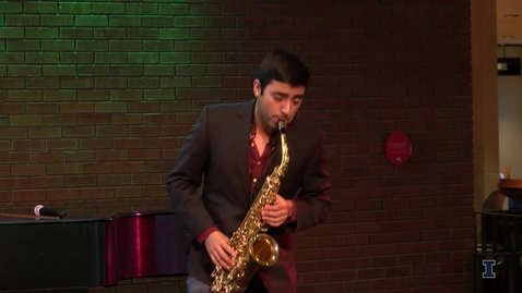 Thumbnail for entry 2018 Research Live! 2nd Place - Gabriel Piqué   Saxophone: Exploring Old Works in A New Format