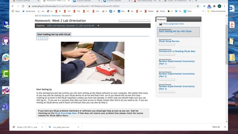 Thumbnail for entry Getting & Running the IOLab Software