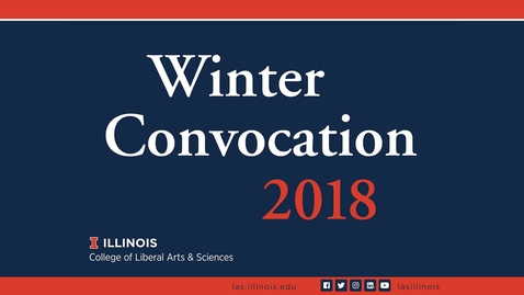 Thumbnail for entry LAS Winter Convocation 2018