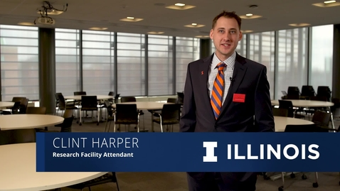 Thumbnail for entry The Illinois Professional Campaign: Clint Harper