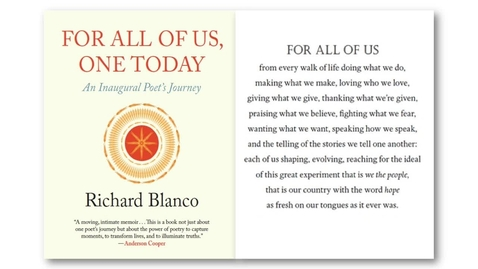 Thumbnail for entry Richard Blanco - Reading by Fifth Inaugural Poet