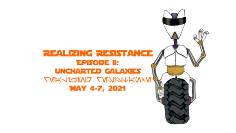 Thumbnail for entry Star Cistems Will Slip through Your Fingers: Glitches, Malfunctions and Errors as Modes of Queer Resistance in Star Wars   Keynote Address, May 7, 2021