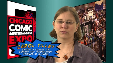 Thumbnail for entry Carol Tilley: Comic Book Crusader