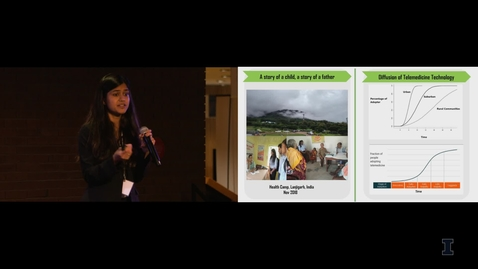 Thumbnail for entry 2019 Research Live! Abhilasha Gulhane: Vision of an Eye, Smile on the Face... Can Telemedicine Help?