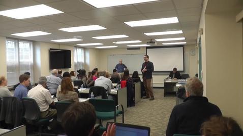 Thumbnail for entry Teaching Online in LAS: Stephen Altaner