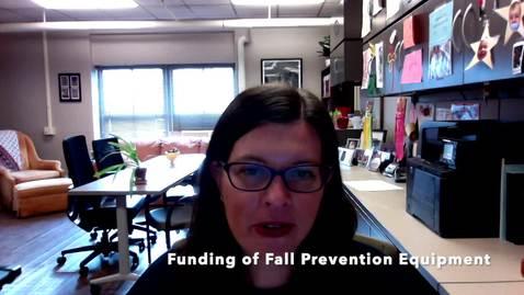 Thumbnail for entry V5c_Funding of Fall Prevention Equipment