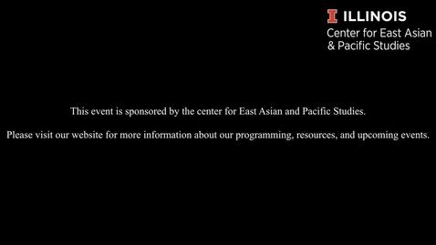 "Thumbnail for entry Gordon Mathews - ""Hong Kong Identity and Migration Past, Present, and Future"""