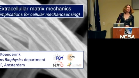 Thumbnail for entry Extracellular matrix mechanics and implications for cellular mechanosensing