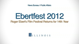 Thumbnail for entry Ebertfest 2012