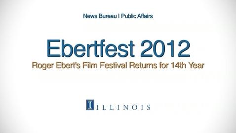 Thumbnail for entry Ebertfest 2012