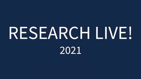 Thumbnail for entry Take the Challenge.  Research Live 2021!