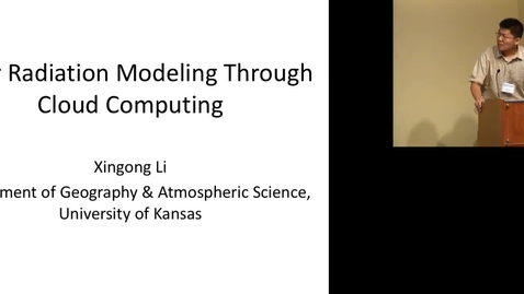 Thumbnail for entry Solar Radiation Modeling Through Cloud Computing.mp4