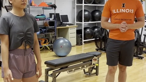 Thumbnail for entry Body Weight Squats - progressions and regressions