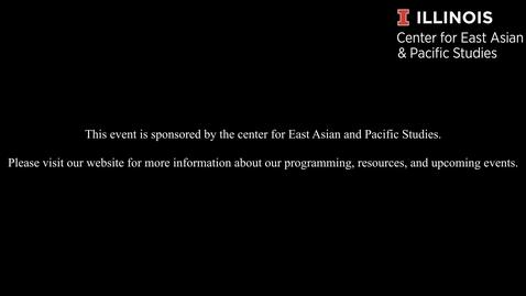 "Thumbnail for entry Lu Gao - ""The Relationship between Yuan Shikai and China's Modern Journalism"""