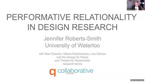 Thumbnail for entry Visitor Talk: Jennifer Roberts-Smith