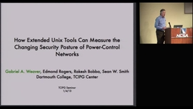 Thumbnail for entry How Extended Unix Tools Can Measure the Changing Security Posture of Power-Control Networks