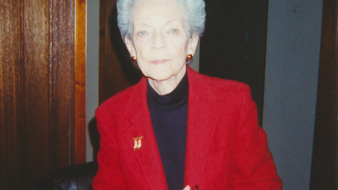 Thumbnail for entry Katharin Fishbaugh Carr Oral History