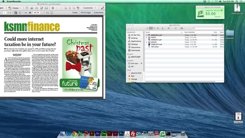 Thumbnail for entry MDIA290 - Advanced InDesign features