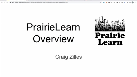 Thumbnail for entry PrairieLearn Detailed Overview