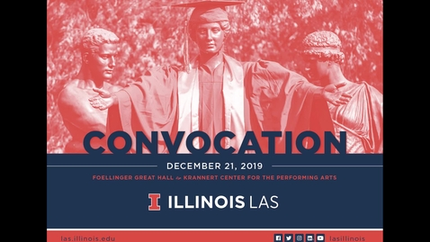 Thumbnail for entry LAS Convocation Ceremony, December 21, 2019