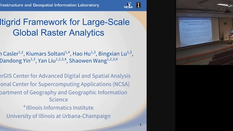Thumbnail for entry Multigrid Framework for Large-Scale Global Raster Analytics.mp4