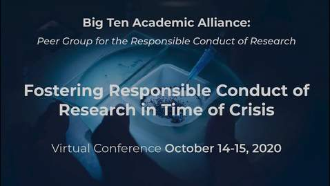 Thumbnail for entry Vice Chancellors for Research Panel Discussion - Building, Fostering, and Maintaining Cultures of Excellence in Research in Times of Crises and Beyond