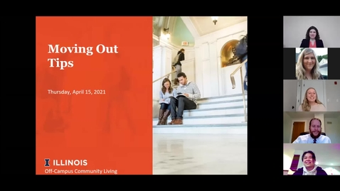 Thumbnail for entry Move Out Tips Webinar