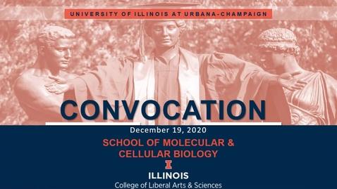 Thumbnail for entry MCB Virtual Convocation - Fall 2020