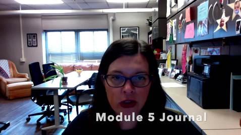 Thumbnail for entry V5d_Journal Entry