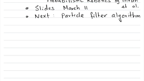 Thumbnail for entry 1.1-BayesFilter-4988SMA
