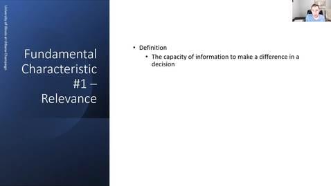 Thumbnail for entry Fundamental Characteristics