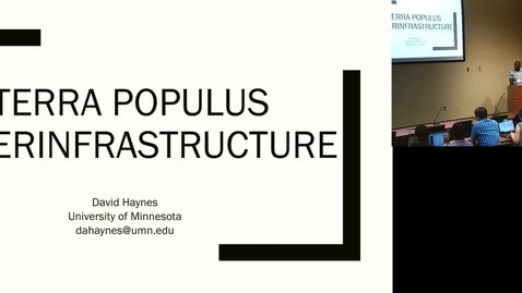 Thumbnail for entry Terra Populus Cyberinfrastructure.mp4