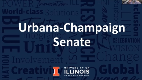 Thumbnail for entry Academic Senate Meeting, Dec. 7, 2020
