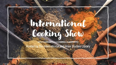 Thumbnail for entry International Cooking Show- Traditional Chai