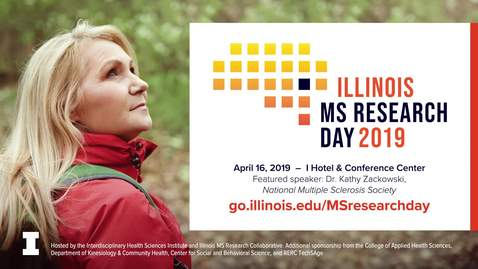 Thumbnail for entry MS Research Day 2019 - Keynote Speaker Kathleen Zackowski